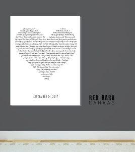 heart shape song lyrics