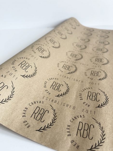 your company logo wrapping paper